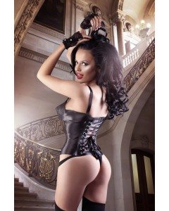 Court Royal Tempest Steel Boned Ribbon Bandage Corset