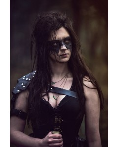 Black Shoulder Armour