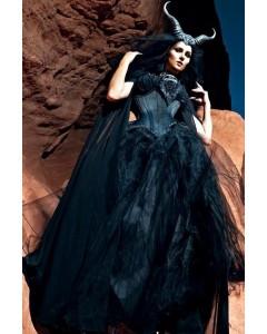 Maleficent Curvella Waist Training Corset