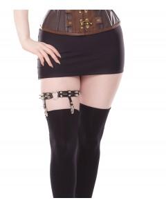 Black Leg Garter Suspender